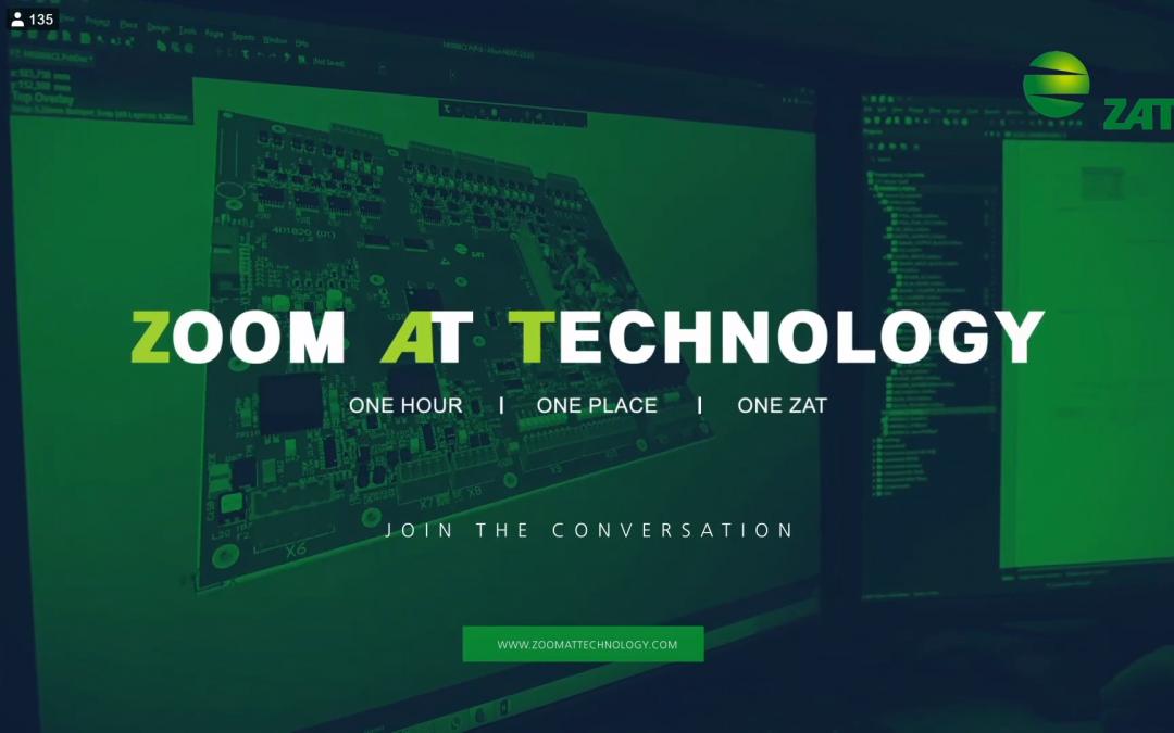 ON-LINE KONFERENCE / LIVE STREAM ZAT – ZOOM AT TECHNOLOGY 2019