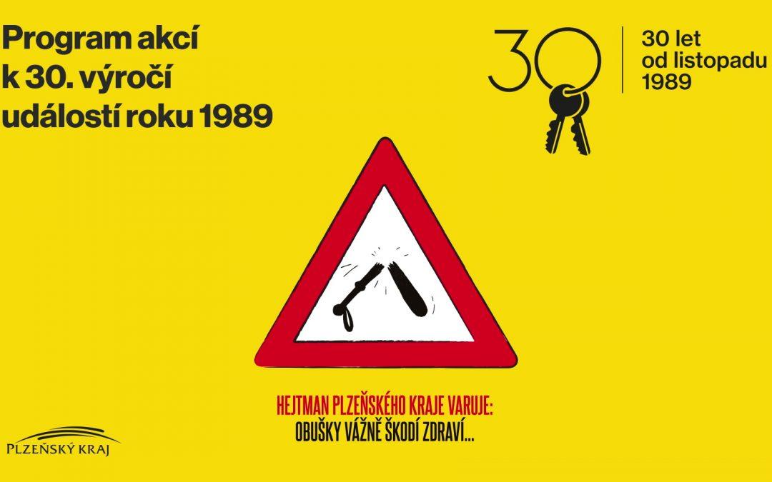 30 let od revoluce vPlzeňském kraji